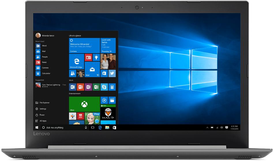 Ноутбук LENOVO IdeaPad 330 15 Platinum Gray (81DE032FRA)