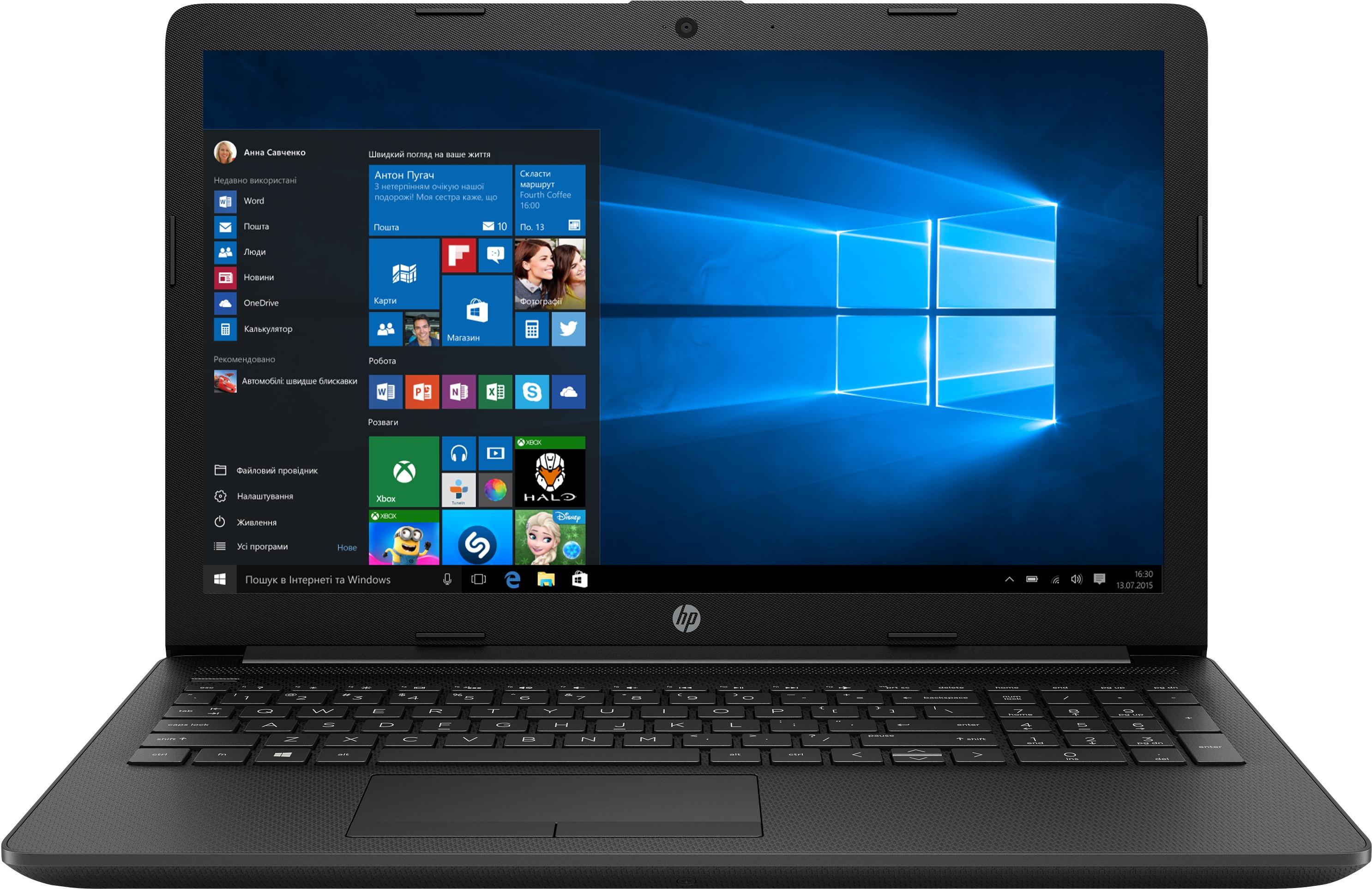 Ноутбук HP 15-db0049ur Black (4KG50EA) купить по низкой цене в Киеве, Харькове, Днепре, Одессе, Запорожье, Украине | Интернет-магазин Eldorado