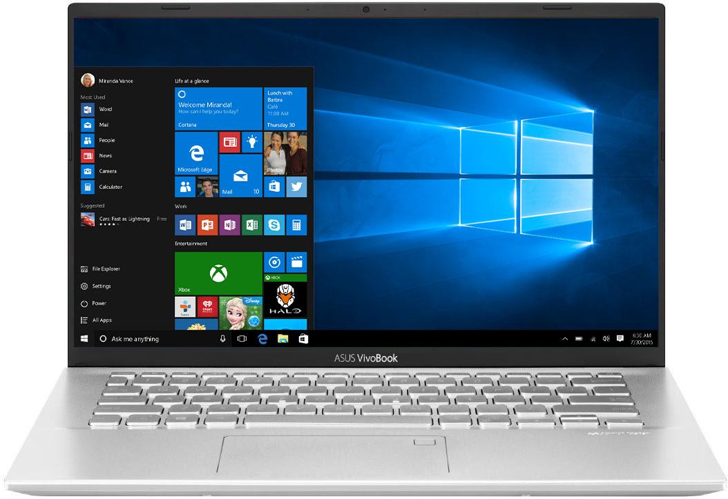 Ноутбук ASUS VivoBook 14 X412DA-EK333T Transparent Silver (90NB0M51-M09130)