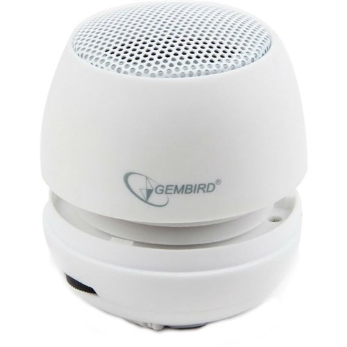 Портативная акустика gembird spk-103-w white