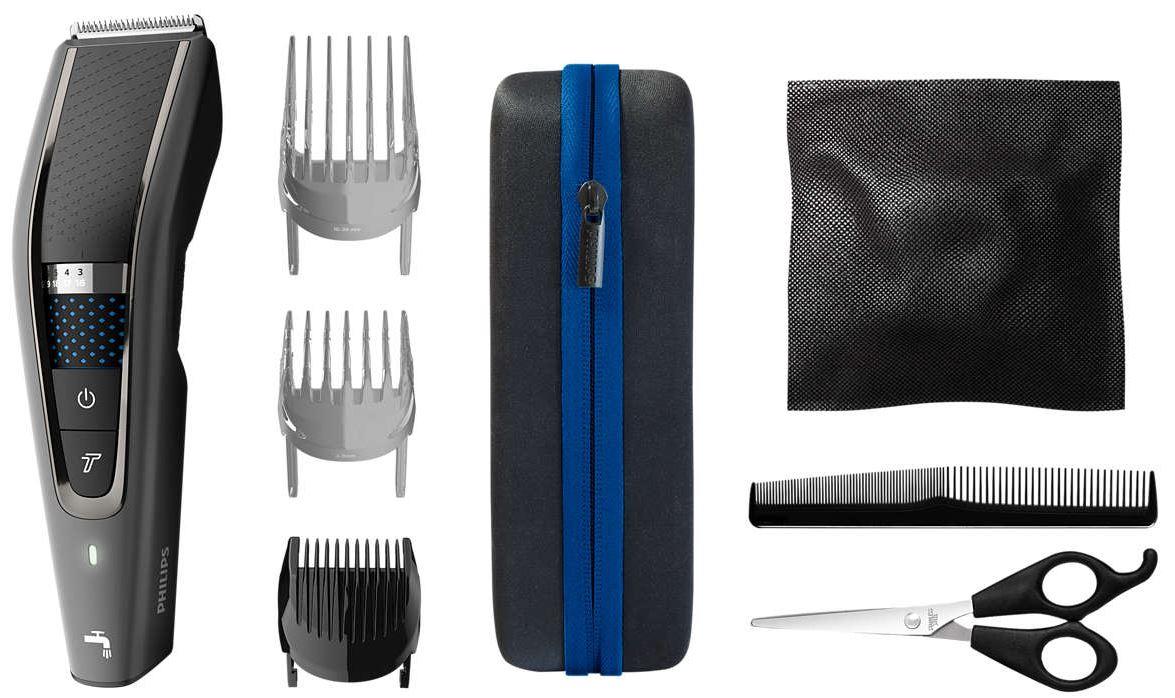 Купить Машинки для стрижки и триммеры, Машинка для стрижки волос PHILIPS HC 7650/15