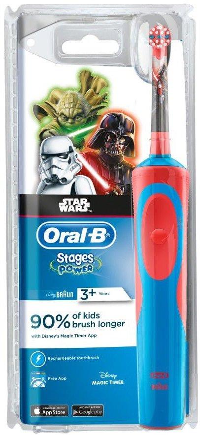 Зубна щітка BRAUN Oral-B D12.513K дитяча Star Wars купити за низькою ціною  в Києві cb808a6035661
