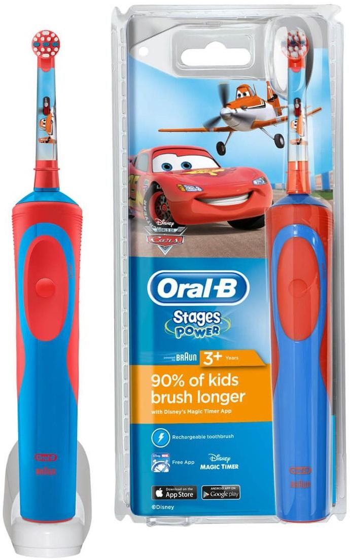 Зубна щітка BRAUN Oral-B D12.513K дитяча (Cars) купити за низькою ціною в  Києві ab67d2b08d6eb