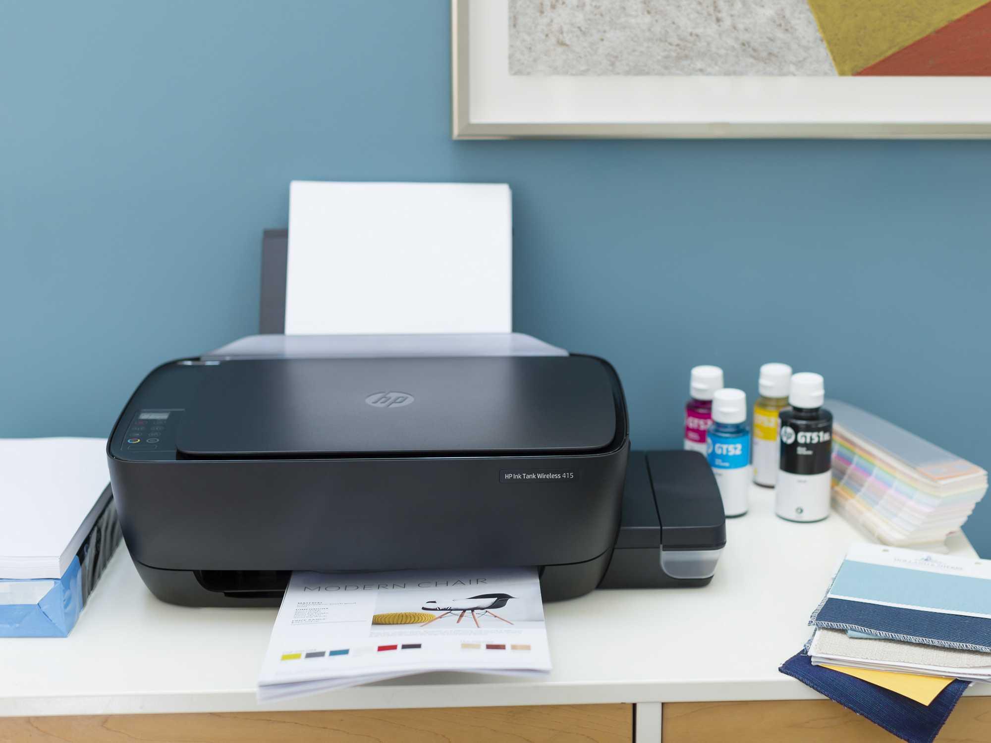 HP PRINTER INK TANK 415 - InkJet Printer for sale - Multi