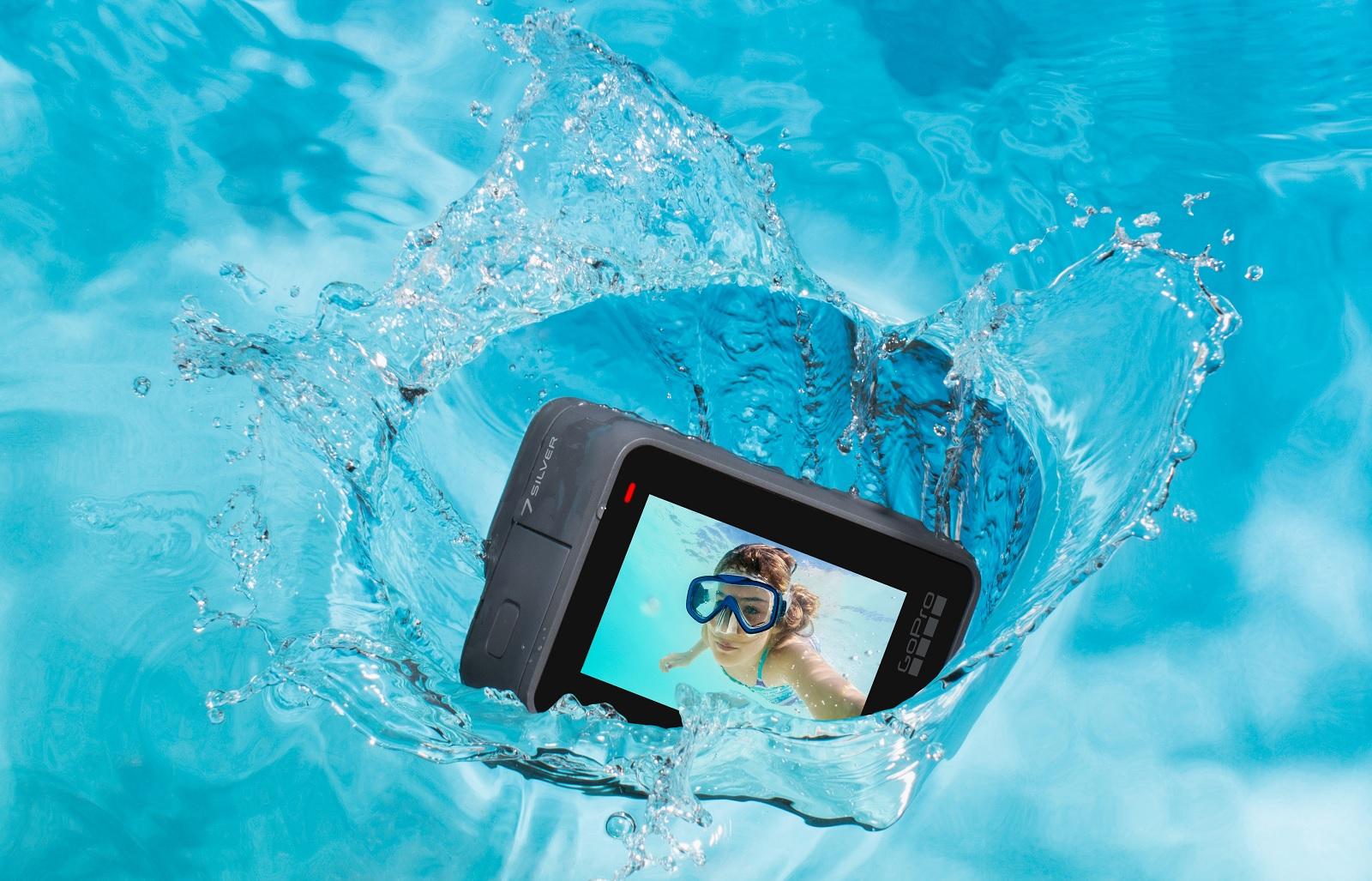 Екшн-камера GOPRO Hero 7 Silver (CHDHC-601-LE), фото 4