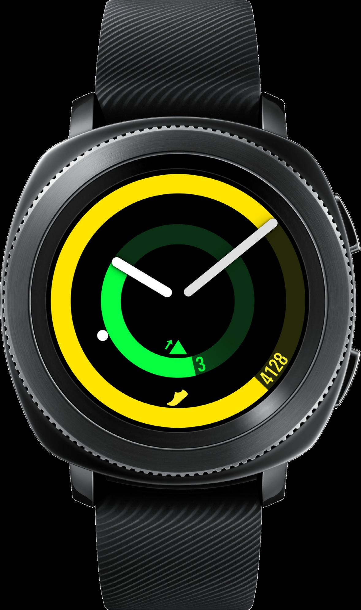 Смарт-часы SAMSUNG Gear Sport Black (SM-R600NZBA) купить по низкой цене в  Киеве 37f5e81962891