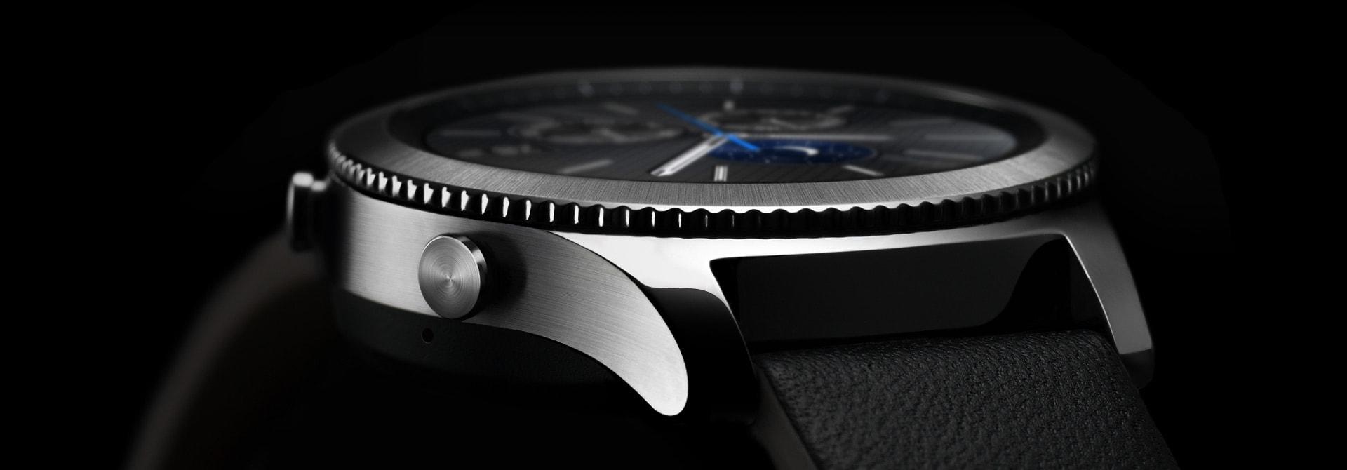 Смарт-годинник Samsung RM-770 Gear S3 Classic (SM-R770NZSA) купити ... 71cfe4b735277