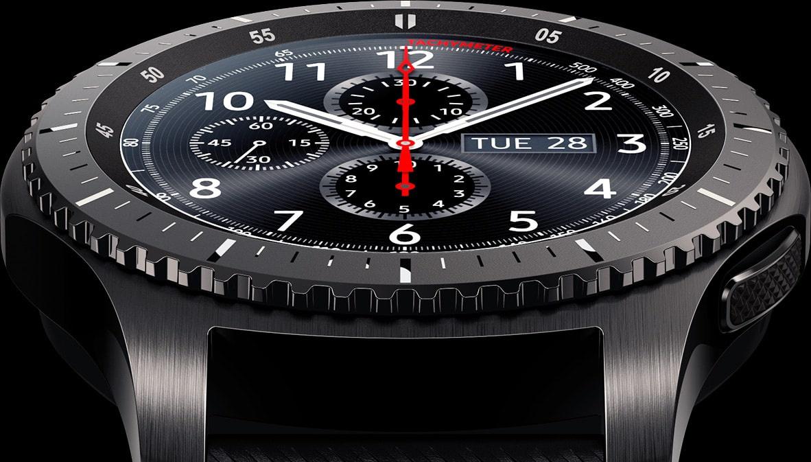 Смарт-часы Samsung RM-760 Gear S3 Frontier (SM-R760NDAA) купить по ... aaac6e4bd6d91