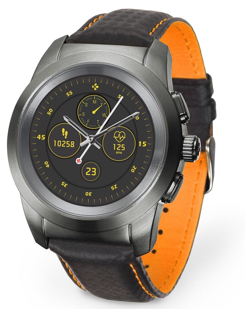 Смарт-годинник MyKronoz ZeTime Regular Premium (44мм) Orange Black купити за  низькою ціною в Києві 903d78a5d881d