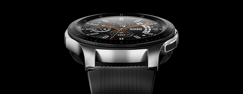 Смарт-часы SAMSUNG Galaxy Watch 46мм Silver (SM-R800NZSASEK) купить ... a9cf22238f979