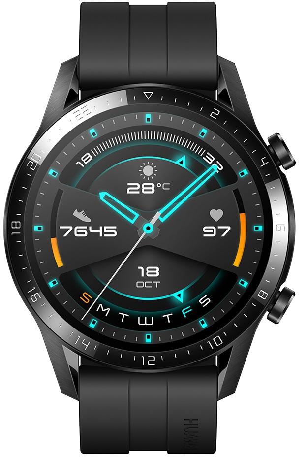 Купить Смарт-часы HUAWEI Watch GT 2 Sport (46mm) Matte Black (55024474)