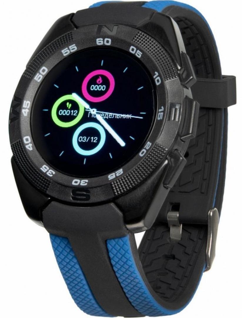 Смарт-часы GELIUS Pro GP-L3 (URBAN WAVE) Black/Blue
