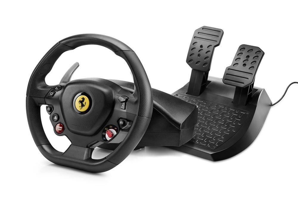 Купить Игровые манипуляторы, Руль Thrustmaster T80 Ferrari 488 GTB Edition PC/PS4 (4160672)