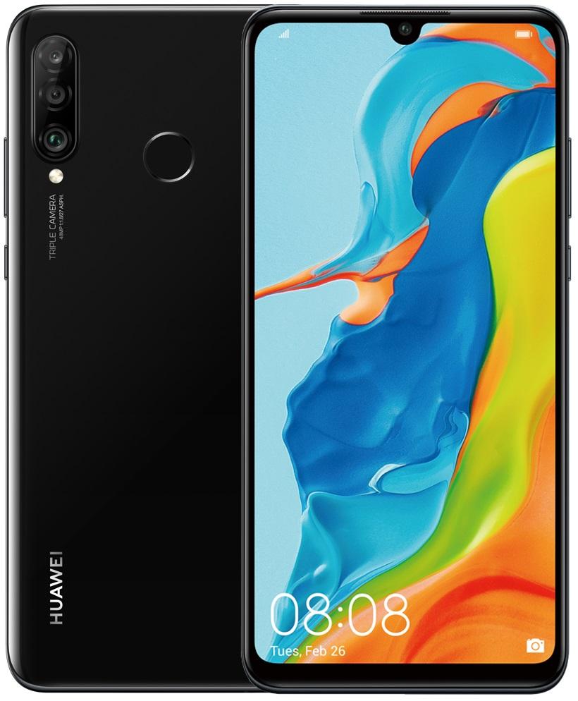 Купить Смартфоны, Смартфон HUAWEI P30 lite 4/64GB Black